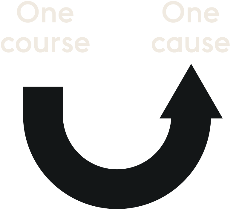 one-course-one-cause